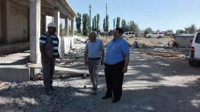 Ağrı Milli Eğitim Müdürü Turan Okul İnşaatlarını Denetledi