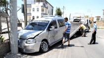 Aksaray'da İki Hafif Ticari Araç Çarpıştı Açıklaması 7 Yaralı