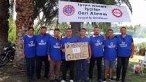 OTURMA EYLEMİ - Aydın'da Otobüs Şoförlerinin Haksız Yere İşten Çıkartıldığı İddiası
