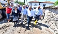 SU TAŞKINI - Büyükşehir'den Çukurköy Seferberliği