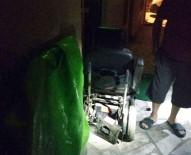 MUSTAFA AKıN - Engelli Aracındaki Aküyü Çaldılar
