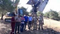 SAVUNMA SİSTEMİ - Gaziantep'te Bulunan Rus Füzesi Enkazı Taşındı