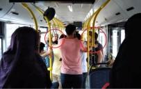 YAŞLI ÇİFT - Halk Otobüsünde Yaşlılara Yer Verilmesini İsteyen Genç Darp Edildi