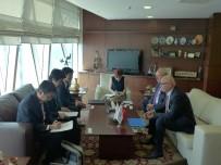 ANKARA SANAYI ODASı - Japonya Büyükelçisi'nden, ASO'ya İşbirliği Çağrısı