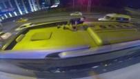 PAVEL - (Özel) İstanbul'da Ukraynalı Gençlerin Tehlikeli 'Metrobüs Sörfü' Kamerada