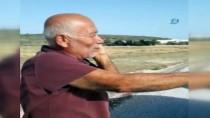 ALAÇATı - Selamlama Yapan Uçak Gazetecilerin Aracına Çarptı
