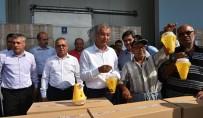 ARIF ABALı - Tarsus'ta Meyve Üreticilerine Sinek Tuzağı Dağıtıldı