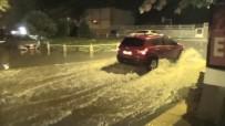 METEOROLOJI GENEL MÜDÜRLÜĞÜ - Tekirdağ'da Şiddetli Yağış Sokakları Göle Çevirdi