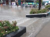 10 Dakikalık Yağış Bandırma'ya Yetti