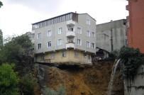 ÇÖKME TEHLİKESİ - 4 Katlı Binanın Çökme Anı Saniye Saniye Görüntülendi