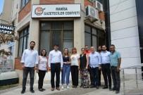 BASIN KURULUŞU - AK Parti'den Manisa Gazeteciler Cemiyeti'ne Bayram Ziyareti
