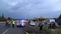 MUHAMMED ALI - Amasya'da Yolcu Otobüsü Tıra Çarptı Açıklaması 23 Yaralı