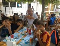 BALIK EKMEK - Balıkçı Kenan, Kur'an Kursu Öğrencilerini Ağırladı