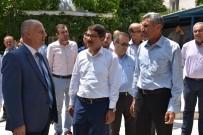FARUK ÇELİK - Başkan Çelik'ten Şehzadeler'e Bağlanan Gökbel Mahallesinde İnceleme