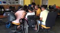 ÖLÜDENİZ - Bedensel Engelli Sena'nın 'Uçma' Hayali Gerçekleşti