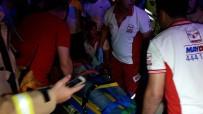 YAĞMURLU - Beşiktaş'ta Taksi Evin Yatak Odasına Girdi Açıklaması 2 Yaralı