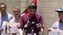 AVIGDOR LIBERMAN - Filistinli Gazetecilerden Protesto