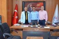 MILLI ATLET - İAAF Koordinatörü Ayaz, Müdür Arıcıoğlu'nu Ziyaret Etti