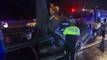 MUHAMMED ALI - Sefaköy'de Otomobil Yön Levhası Direğine Çarptı Açıklaması 1 Ölü
