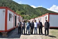 MEHMET UZUN - Türk Kızılayı Karabük Şubesi'nden Yangınzedelere Yardım