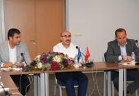 MAHMUT DEMIRTAŞ - Adana'da 9 Belediye İtalya'daki Belediyeler İle Kardeş Şehir Olacak