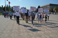 BAYRAM YıLMAZ - Aliağa'da Kamu Görevlileri Ve Vatandaşlar Sağlık İçin Yürüdü