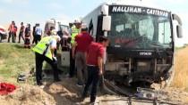 YOLCU TAŞIMACILIĞI - Ankara'da Otobüs Kaza Yaptı Açıklaması 1 Ölü, 23 Yaralı