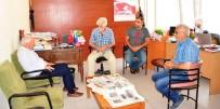 YEREL GAZETE - Başkan Yılmaz'dan Basın Mensuplarına Ziyaret