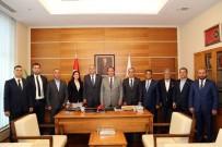 HARUN KARACAN - ESO Yöneticileri Eskişehir Milletvekilleri İle Görüştü