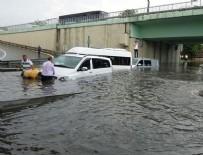 VATAN CADDESİ - İstanbul'da yağış nedeniyle metro seferleri aksadı
