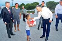 BÜYÜKMANDıRA - Kırklareli Valisi Bilgin'den Babaeski'ye Ziyaret