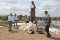 Manyas'ta Peyzaj Çalışmaları Yapılıyor
