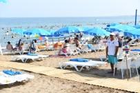 KıZKALESI - Plajlardaki İşgallere Son Verildi