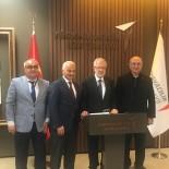 ULUDAĞ ÜNIVERSITESI REKTÖRÜ - Uludağ Üniversitesi'nden TUSAŞ Yöneticilerine İş Birliği Ziyareti