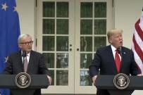 SOYA FASULYESİ - ABD Başkanı Trump Avrupa Komisyonu Başkanı Juncker'i Ağırladı