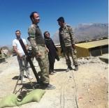 HAKKARİ YÜKSEKOVA - Aileleri Şehitlerin Görev Yaptığı Birlikleri Ziyaret Etti
