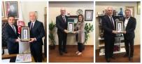 AHMET TAN - Başkan'dan Vekillere Tebrik Ziyareti