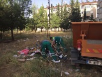 ALTINŞEHİR - Belediye Ekiplerinden Temizlik