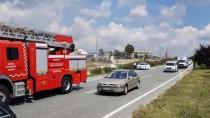 Bursa'da Seyir Halindeyken Arızalanan Otomobil Yandı