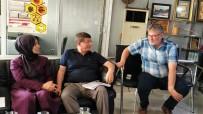 AHMET DAVUTOĞLU - Davutoğlu, Kaşif Durukan'ı Ziyaret Etti