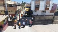 CEYLANPINAR - Gazi Caddesi'nde Asfalt Serimi Başladı