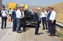 MAMAK BELEDIYESI - Kırıkkale'de Zincirleme Kaza Açıklaması 1'İ Çocuk 11 Yaralı