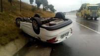 YEŞILKENT - Otomobil Takla Attı; 1 Yaralı