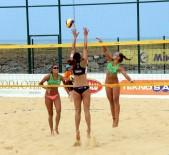 TÜRKIYE VOLEYBOL FEDERASYONU - Plaj Voleybolu Dünya Turu Samsun'da Başladı