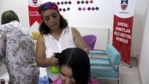 Terör Mağduru Kadınlara Kuaförlük Hizmeti