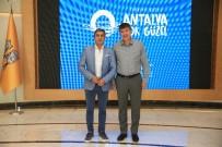 NECATİ ŞAŞMAZ - Türel, Necati Şaşmaz'ı Ağırladı