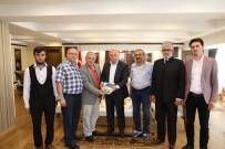 AHMET HAMDİ TANPINAR - TYB Erzurum Şubesi'nden Başkan Sekmen'e Teşekkür Ziyareti