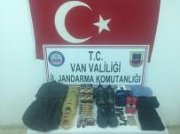KAR MASKESİ - Van'da Terör Eylemlerinde Kullanılacak Malzemeler Ele Geçirildi