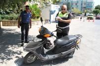 TRAFİK TESCİL - Alanya'da Motosikletlilere Yönelik Sıkı Denetim