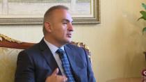 BISMILLAH - Bakan Ersoy, İlk Resmi Yurt İçi Ziyaretini Antalya'ya Yaptı